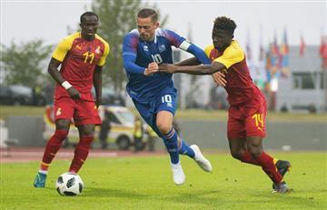 Selección Argentina: Islandia consigue un empate sufrido ante Ghana