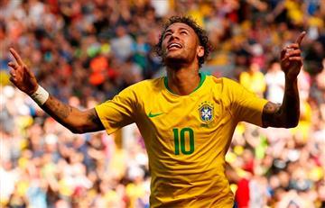Rusia 2018: Neymar va de titular con Brasil antes de viajar al mundial
