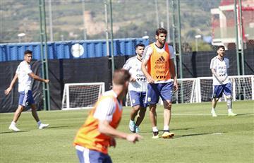 Selección Argentina: el equipo cumple su último entrenamiento en Barcelona