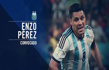 Selección Argentina: Enzo Pérez entra en la nómina en reemplazo de Lanzini