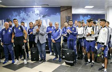 Selección Argentina: Tapia envió mensaje tras la llegada de la 'albiceleste' a Rusia