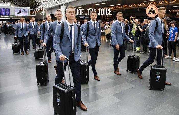 Selección de Islandia (Foto: Twitter)