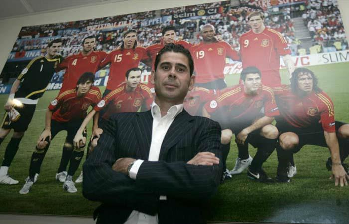 Fernando Hierro. Foto: Twitter