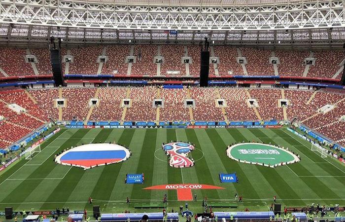 Ya se vive la inauguración del Mundial. (FOTO; Twitter)