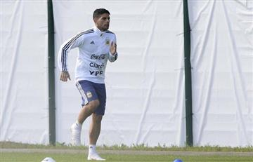 Selección Argentina: Ever Banega volvió a los entrenamientos con el grupo