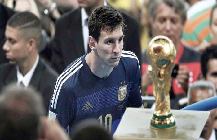 Lionel Messi y su obsesión. Foto: AFP