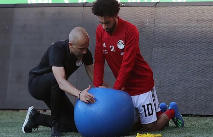 Mohamed Salah se alista para el Mundial. (FOTO: Twitter)
