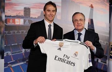 Real Madrid: Julen Lopetegui fue presentado como el nuevo DT de la Casa Blanca