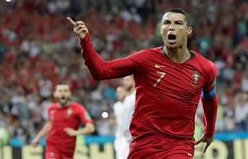 Portugal vs España: Cristiano Ronaldo es el cuarto jugador que marca en cuatro mundiales