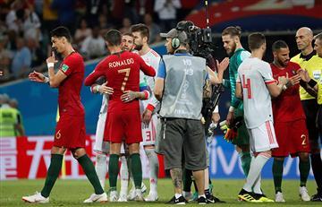Portugal vs España: un partido de infarto que terminó igualado
