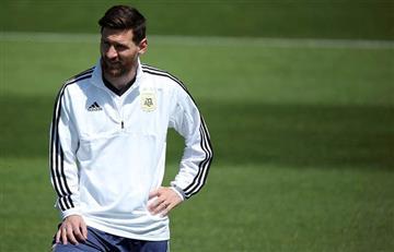 Selección Argentina: último entrenamiento antes del debut mundialista