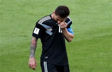 Argentina empató con Islandia en decepcionante partido. Messi erró un penal