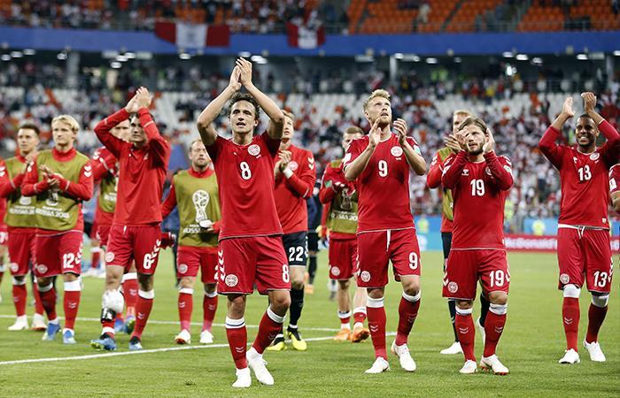 Dinamarca venció 1-0 a Perú (Foto: EFE)