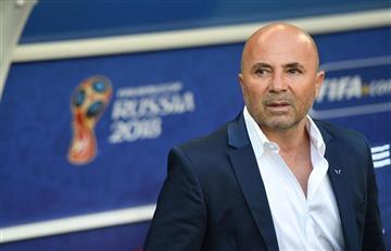 """Jorge Sampaoli: """"El compromiso de Lionel Messi está intacto"""""""