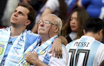 Selección Argentina: el desencanto de los hinchas tras igualar ante Islandia