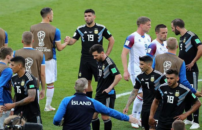 Lionel Messi no encontró un socio en el equipo argentino. (FOTO: EFE)