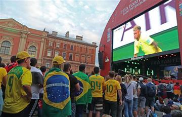 Brasil vs Suiza: hinchas brasileños van en contra del árbitro mexicano