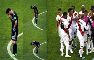 Messi erró y Cueva también, pero la reacción de sus compañeros deja mucho para analizar