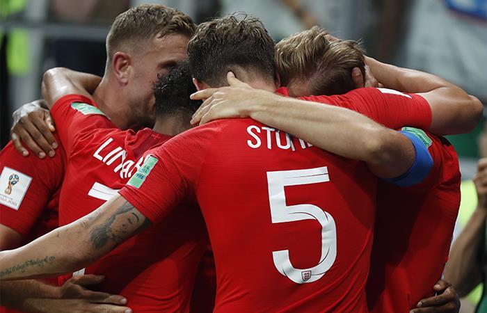 Inglaterra venció 2-1 a Túnez. Foto: EFE