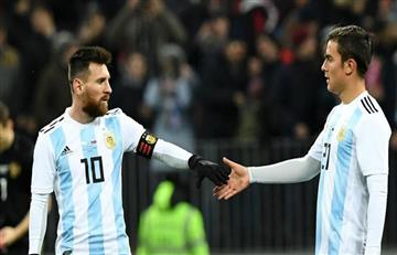 """Paulo Dybala: """"Messi y yo sí podemos jugar juntos"""""""