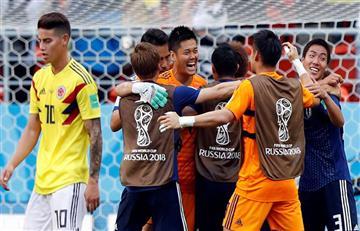 Rusia 2018: Japón sorprendió y derrotó a Colombia en el debut mundialista