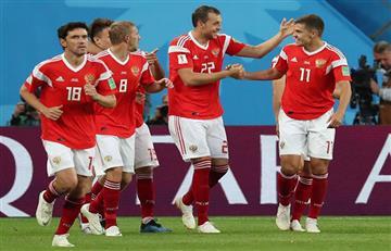 Rusia derrotó a Egipto y se perfila como el primer clasificado a octavos del Mundial