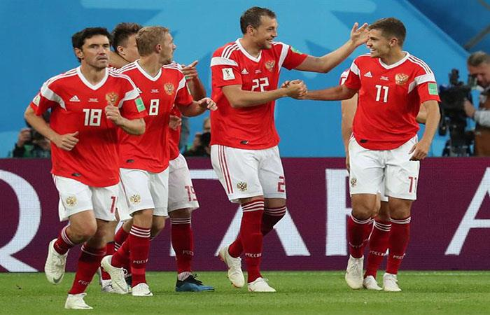 Rusia se alista para los octavos del Mundial. (FOTO: EFE)