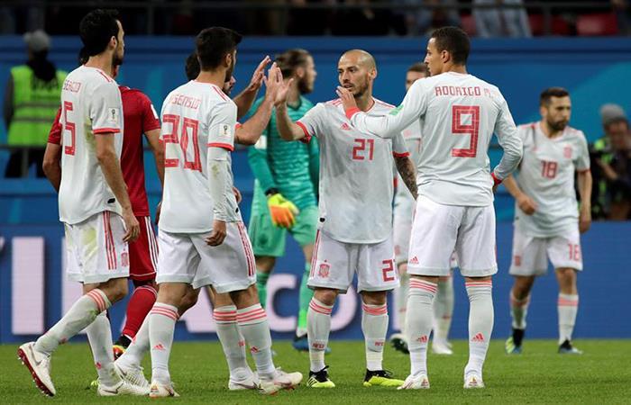 España ganó, pero dejó dudas en el partido ante Irán. (FOTO: EFE)
