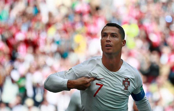 Cristiano Ronaldo está aquí. (FOTO: EFE)