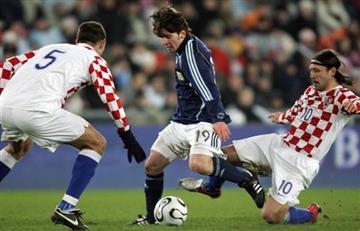 Selección Argentina: Croacia, la primera víctima de Messi con la Selección