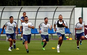 """Selección Argentina: """"Estamos todos con Messi"""""""
