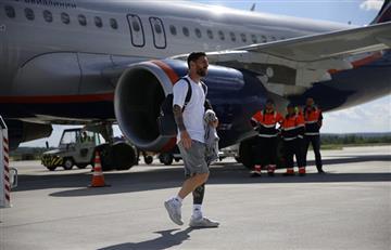 Selección Argentina: último entrenamiento y viaje a Nizhny para los de Jorge Sampaoli