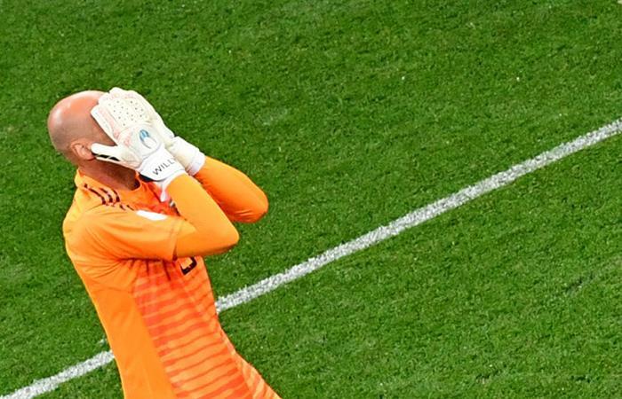 Argentina vs Croacia: el horror de Caballero que abrió la puerta a la goleada