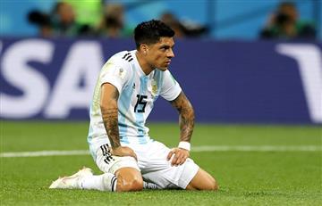 Argentina vs Croacia: el increíble gol que erró Enzo Pérez debajo del arco