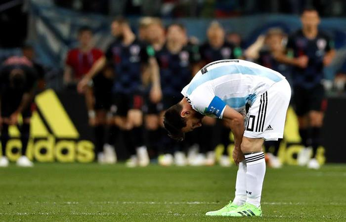 ¿Dónde está Messi?