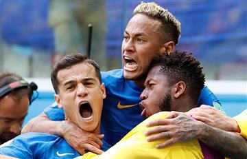 Brasil derrota a Costa Rica y queda cerca de clasificar a los octavos del mundial