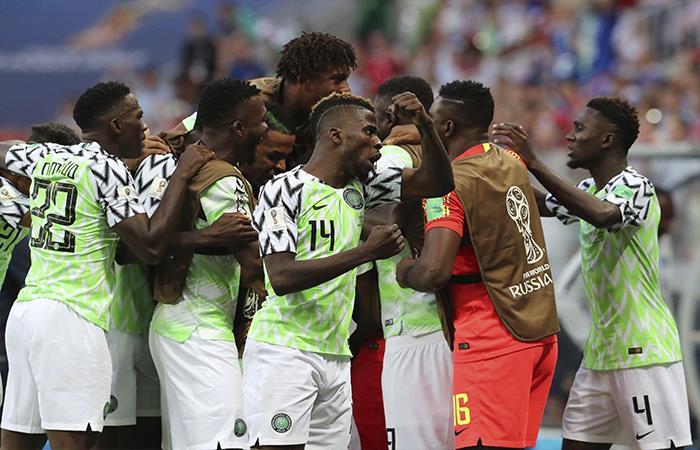 Nigeria derrotó por 2-0 a Islandia (Foto: EFE)