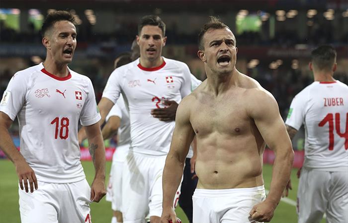 Suiza venció 2-1 a Serbia (Foto: EFE)