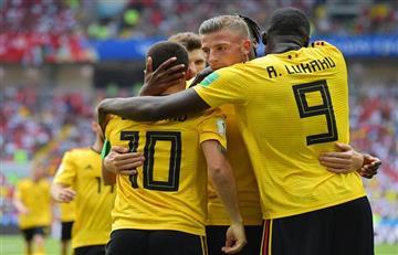 Bélgica goleó a Túnez y es el equipo que mejor juega en Rusia