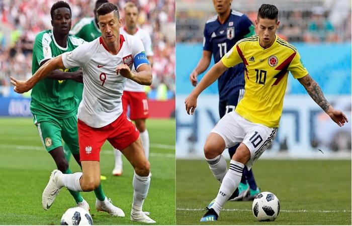 Polonia y Colombia chocan para ganar o ganar. Foto: EFE