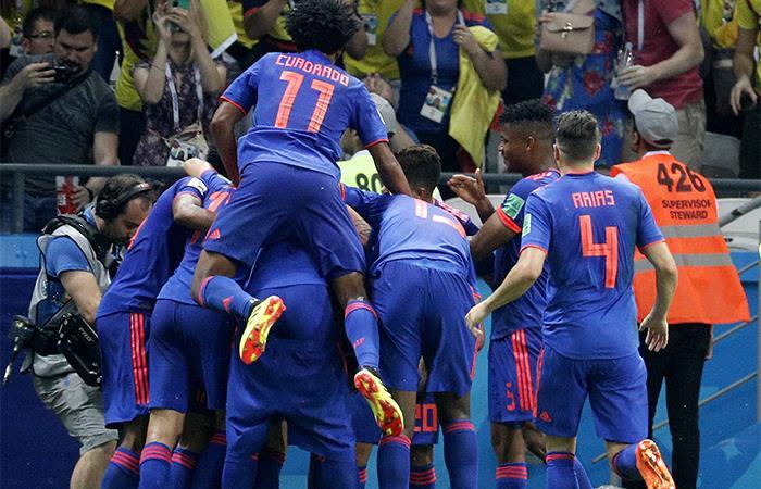Colombia venció 3-0 a Polonia (Foto: EFE)