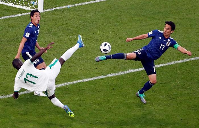 Japón y Senegal lideran el Grupo H del Mundial. Foto: EFE