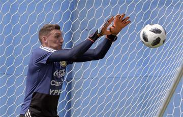 Selección Argentina: Franco Armani al arco y línea de cuatro ante Nigeria