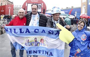 Selección Argentina: un viaje de 700 kilómetros para ver a Messi