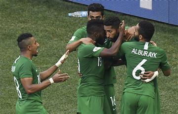 Arabia Saudita se despide a la copa del mundo venciendo a Egipto