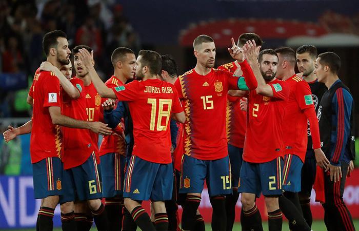 España igualó 2-2 ante Marruecos (Foto: EFE)