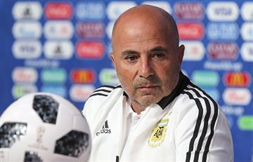 Jorge Sampaoli y sus palabras de aliento que necesita la Argentina