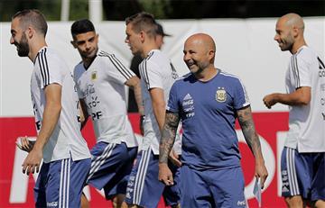 Selección Argentina realiza su último entrenamiento previo al choque ante Nigeria