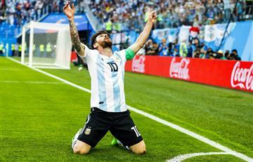 Argentina vs Nigeria: mirá el golazo de Lionel Messi para el 1-0 argentino