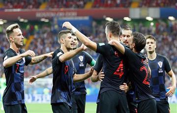 Croacia derrotó a Islandia y es el líder del Grupo D del Mundial